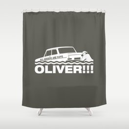 Top Gear: Oliver Shower Curtain