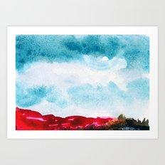 Pink Cliffs Art Print