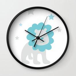 Leo July 23 -August 22 - Fire sign - Zodiac symbols Wall Clock