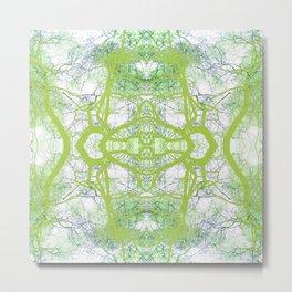 279 = Abstract Tree design Metal Print