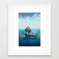 nemo Framed Art Prints featuring Nemo by Tony Vazquez