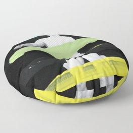 Untitled (Finger Paint 8) Floor Pillow