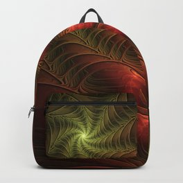 Fantasy Fractal, Coloful And Luminous Backpack