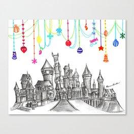Party at Hogwarts Castle! Canvas Print