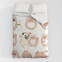 Happy dogs, Happy Life Comforters