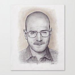 Breaking Bad Walter White Canvas Print