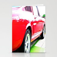 mustang Stationery Cards featuring Mustang by LeeRay Flowers