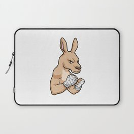 Kangaroo as Boxer at Boxing Laptop Sleeve