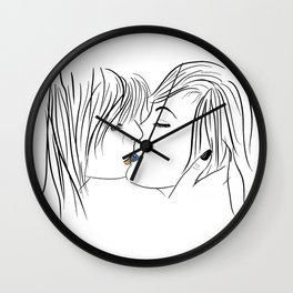 nice to meet you Wall Clock