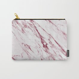 Pinot Noir Wine Marble Pattern Carry-All Pouch