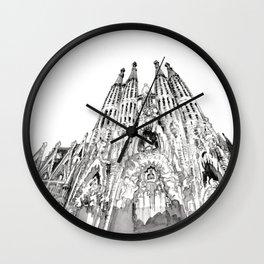 Bcn 2 Wall Clock