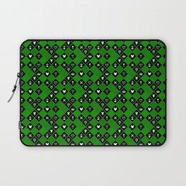 Kingdom Hearts III - Pattern - Green Laptop Sleeve