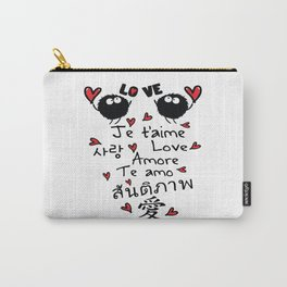 Love in many language Carry-All Pouch