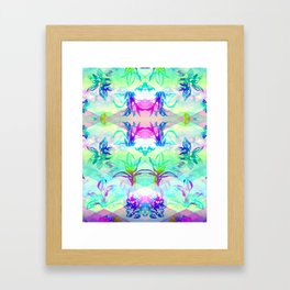 'Cosmic Foliage' Illustration by Hannah Stouffer Framed Art Print