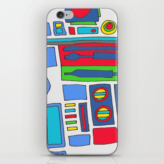 cool boys like epic droids iPhone Skin