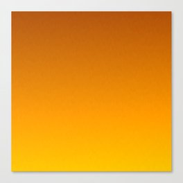 Honey Brown Orange Yellow Ombre Flames Canvas Print