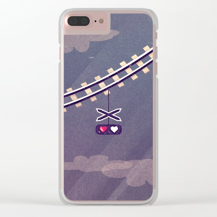 I won't leave without U Clear iPhone Case