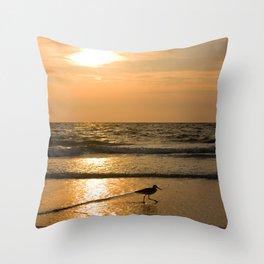Sunset St. Pete Throw Pillow