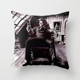 Benjamin Barker Throw Pillow