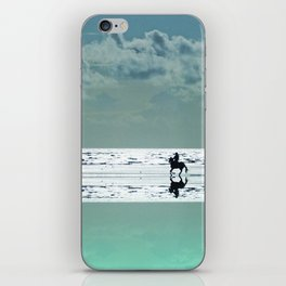 Riding Silver Sands iPhone Skin