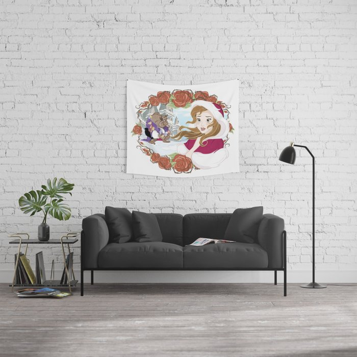 Belle Wall Tapestry