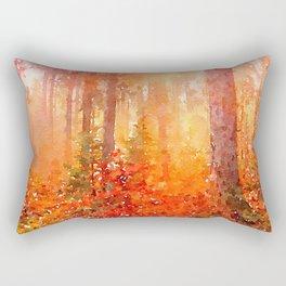 Fall Forest Rectangular Pillow