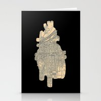 maps Stationery Cards featuring maps by yayanastasia