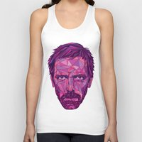 house md Tank Tops featuring House by Wink