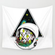 Space Gummies Wall Tapestry