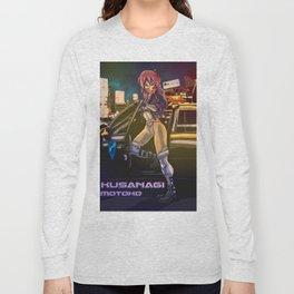 Kusanagi Motoko Long Sleeve T-shirt