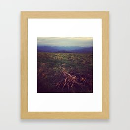 MP: Before Flame Framed Art Print