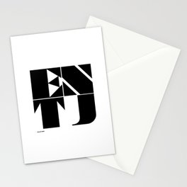 Type Type for ENTJ Stationery Cards