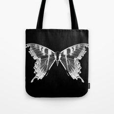 Wings and Skull #5 Tote Bag