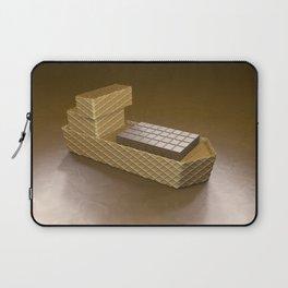 Chocolate Ship - 3D Art Laptop Sleeve