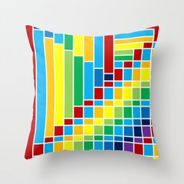 Fuzz Outline Throw Pillow