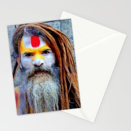 Holy Indian Man Stationery Cards