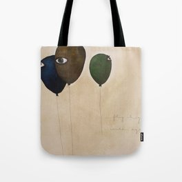 fly high wide eyes Tote Bag