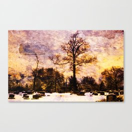 Land of the Dead Canvas Print