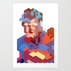 Geometric Super Art Print