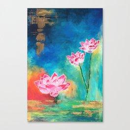 Lotus Lover Canvas Print