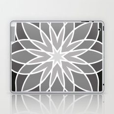 Shades of Grey | Geometric Pattern Laptop & iPad Skin
