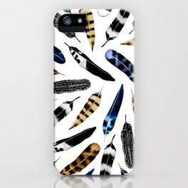 Bohemian Free Feather iPhone Case