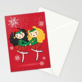 Lil Dancer '2 Hand Elves' Stationery Cards