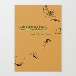 I Am Strength Canvas Print