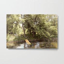 Country Water Park Metal Print