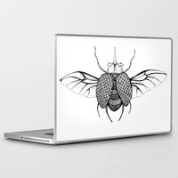 beetle Laptop & iPad Skins featuring Beetle by Freja Friborg