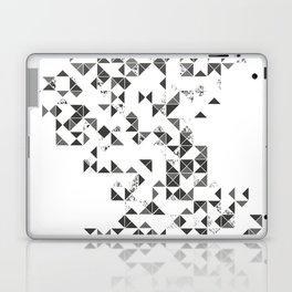 TRIANGLES B&W Geometric print Laptop & iPad Skin