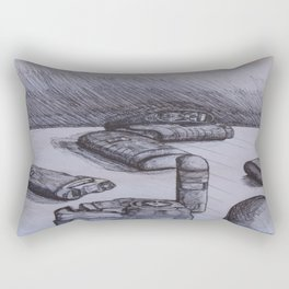 Portable Nebulizer Repeat Rectangular Pillow
