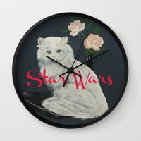 starwars Wall Clocks featuring Wilco - StarWars by NICEALB
