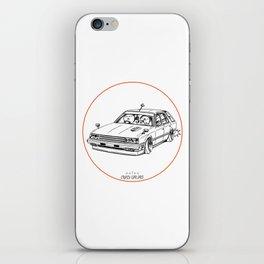 Crazy Car Art 0213 iPhone Skin